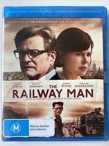The Railway Man - Colin Firth (Blu-ray) Australia Region B- NEW & SEALED