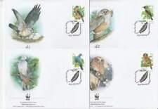 WWF 4 x FDC Christmas Island 2002 - Vogels / Birds (300)