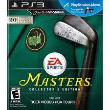 Tiger Woods PGA Tour 13 Masters Collector's Edition Ps3 PlayStation 3