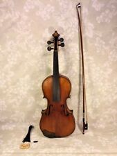 Vtg Francesco Ruggeri Model Violin Cremona 1663 w/ Case & Josef Richter Bow
