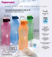 Tupperware Aqua Safe ECO Sports 500 ml (16 oz) Original Water Bottle - 2 Bottles