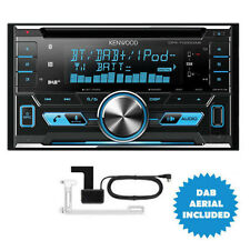 KENWOOD DPX-7000DAB 2-DIN Voiture / Van CD Ipod DAB+ Bluetooth Stereo + antenne