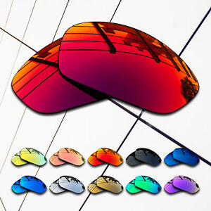 TRUE POLARIZED Replacement Lenses for-Oakley Split Jacket OO9099 Multi-Colors