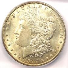 1897-O Morgan Silver Dollar $1 Coin - ICG MS61 (Rare in UNC BU) - $1,590 Value!