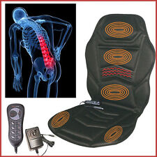 5 Motors Back Massage Seat and Cushion Car Home Office Relaxing Warm As On TV