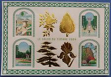 Bloc Feuillet Jardin doré neuf n° 71 Année 2004