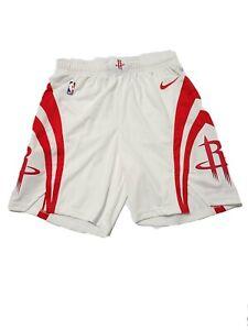 Nike NBA Houston Rockets Authentic Home On-Court Vaporknit Shorts Size 40 (XL)