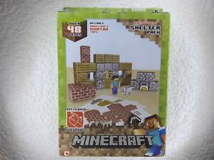 Minecraft Otherworld Shelter Pack Easy to Build Paper Craft