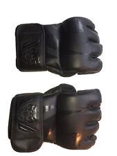 Venum Gloves MMA Challenger Gloves Matte Black Fight Training Gloves MMA. Size S