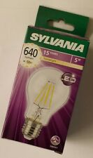 Led Lampada E27 5W 640lm Warm White 2700°K Tecnologia Wireled Sylvania