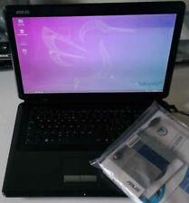"""Notebook Asus X70ij usato buono stato 17"""" linux lubuntu senza batteria e aliment"""