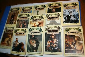 13 x Conan Heyne Konvolut  13 gut erhaltenen Fantasy-Tb   Robert  E. Howard u.a.
