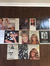 Vintage FARRAH FAWCETT Charlie's Angels Movie And Ad clippings Lot 1