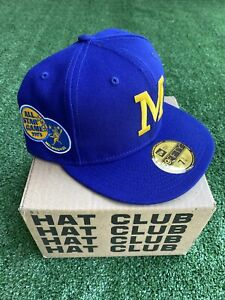 Hat Club Exclusive New Era 7 3/4 Milwaukee Brewers 1975 All Star Game Fitted
