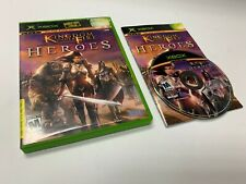 Kingdom Under Fire Heroes Xbox Complete Original Microsoft