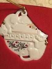 Lenox China Jewels Kittens Ornament Box