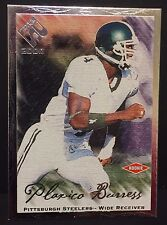 PLAXICO BURRESS 2000 Private Stock ROOKIE Silver FOIL Card Ser #d /330 STEELERS