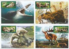 Russia 2020 Prehistoric Fauna  Dinosaurs Mammoths Russia 2872-2875 Mih 02