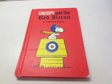 Snoopy and the Red Baron by Charles M. Schulz September 1966 hardcover