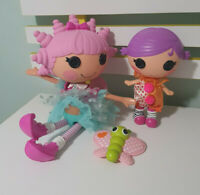 SMILE E WISHES DOLL LALALOOPSY SQUIRT LIL TOP