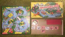 Walt Disney ADVENTURELAND Board Game Parker Brothers Vintage Original 1950s