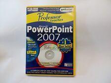 Professor Teaches  Microsoft PowerPoint 2007  (bd)