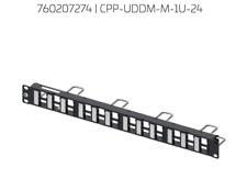 24 Port CommScope Rack Mount Discrete Distribution Module Panel **New**