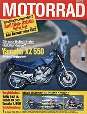 Motorrad 1 1982 BMW R 65 LS Honda CX 500 Super Cub Husqvarna 430CR Maico XZ550