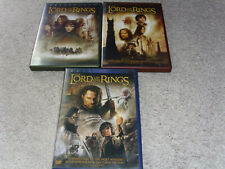 The Lord of the Rings Trilogy (Dvd, 2004, 6 Discs, Full Screen) *Good - Vg*