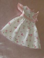 Vêtements poupée Bella Raynal Corolle robe imprimé fleurs roses