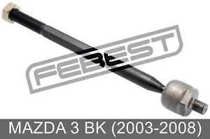 Steering Tie Rod For Mazda 3 Bk (2003-2008)