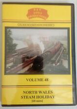 B & R 48 DVD North Wales Steam Holiday Train Railway