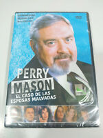 Perry Mason Caso de las Esposas Malvadas Serie TV - DVD Español Ingles Nueva