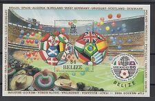 XG-T253 BELIZE - Football, 1986 Mexico World Cup '86 MNH Sheet