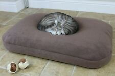BEAN BAG Bed Soft Warm THERMAL Fleece Cat Pet Cushion Mattress. Washable cover.