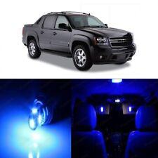 15 x Blue LED Interior Light Kit For 2007- 2013 Chevy Chevrolet Avalanche + TOOL