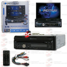 SOUNDSTREAM VR-720B 1-DIN DVD CD BLUETOOTH CAR STEREO WITH MOTORIZED 7