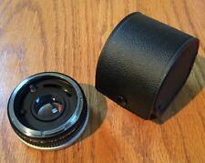 Vintage JC Penney Auto 2X TeleConverter Doubler Lens Canon FD Case
