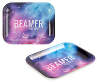 Beamer Smoke Outer Space - 1 TRAY - Rolling Papers Tray Large 13x11 Size Metal