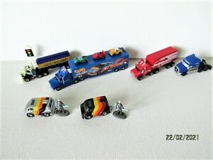 Galloob Micro Machines/ Hot Wheels Collection Semi Trucks Containers Vans Extras