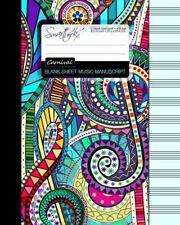 Blank Sheet Music Music Manuscript Paper / Staff Paper / Musicians Notebook [