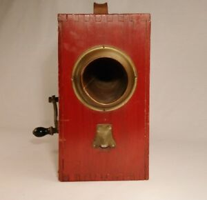 Rotary Boxed Foghorn Norwegian Pattern - England
