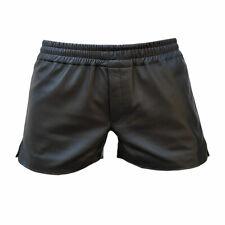 Mens Boxer Shorts Real Soft Black Sheep Lambs NAPPA Leather Underwear