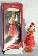 HALLMARK Russian Barbie Dolls of the World ornament 1999 EUC in box