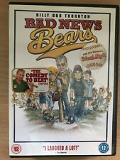 Billy Bob Thornton BAD NEWS BEARS ~ 2005 Family Baseball Comedy Remake UK DVD