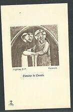 Estampa antigua de Santo Domingo Guzman andachtsbild santino holy card santini