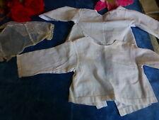 lot 2brassiéres coton pour bébé ou poupon,poupée ,colin,raynal,bella gégé