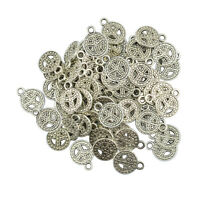 50pcs Retro Peace Sign Charms for jewelry making,craft,cards,vintage,pendant