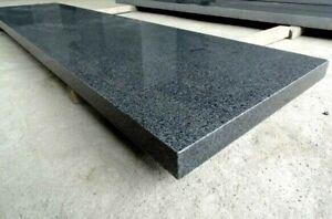Mauerabdeckung Granit dunkel poliert - 100x25x2cm