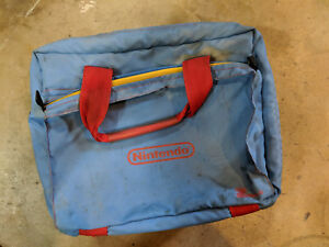 Padded Nintendo Storage Z-Bag Foam Storage Tote - Race Track Logo 1989 NES